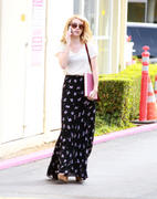 Emma Roberts Out in West Hollywood on September 30, 2011