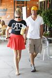 Rebecca Romijn | Out for Lunch in Woodland Hills | August 15 | 9 leggy pics