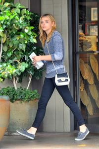Chloe Moretz Out In Beverly Hills 07-14-2014