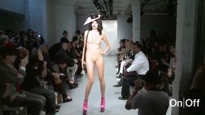Naked London Fashion Week Scenes