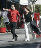 Drew Barrymore&Fabrizio Moretti candid in LA