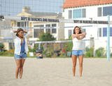 The Saturdays | Playing Volleyball on the Beach in LA | October 7 | 29 pics